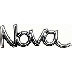 OER 6258150 Reproduction Fender Emblem for 1973-74 Nova, Each