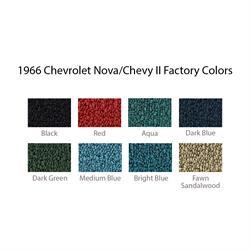 Auto Custom Carpets Carpet Kit 1962 67 2 Dr Nova Chevy Ii 4 Spd