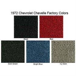 ACC 1968-1972 Chevrolet Chevelle 2 Door Loop Carpet Kit