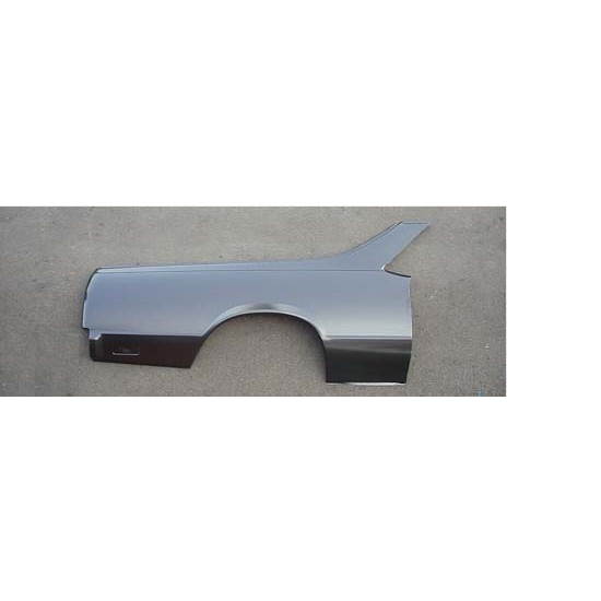 Sherman 710-51ER RH Side Full Quarter Panel, 78-87 El Camino/Caballero