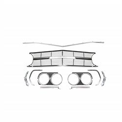 Original Parts Group A6491B Grill Kit, 1965 Chevelle SS, 6 Piece