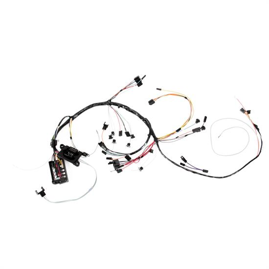 m u0026h electric 5960 dash wiring harness w  gauges  1965 chevelle