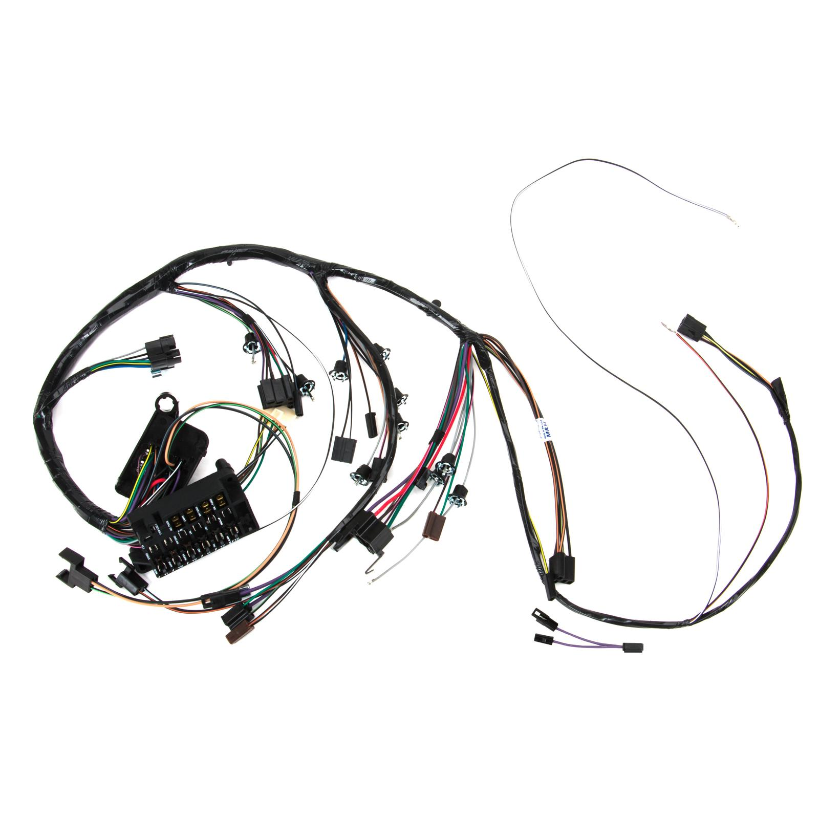 m h electric 10535 dash wiring harness w gauges 1967 chevelle Injectors Megasquirt Wiring 92621793 l1600 39ca3ecb c5fe 4844 9af9 f57a01e19ab8