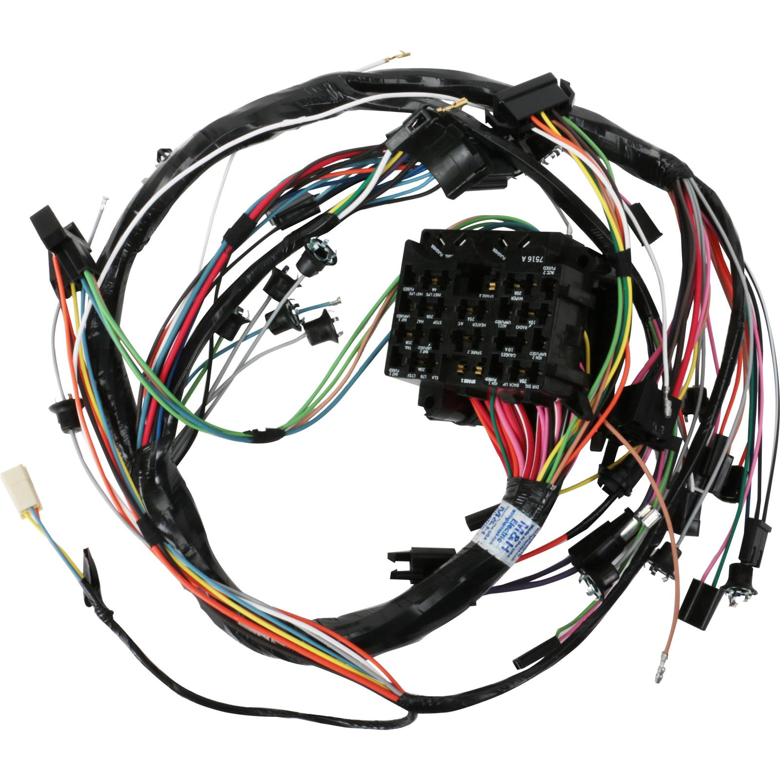 Mh Electric 39045 Dash Wiring Harness 1968 Gm A Body W Gauges Kit For 5 0 Efi Engine 2