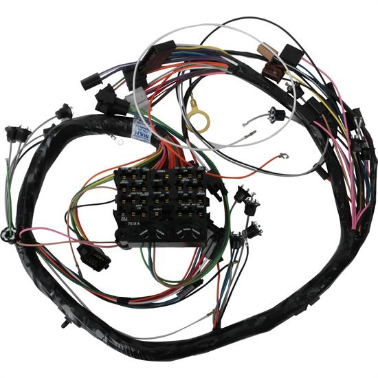 Speedway Dash Wiring Harness  1969 Gm A Gauges  U0026 Ac