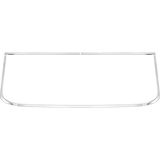 OER 14387 1966-67 Nova Rear Window Moldings Hardtop