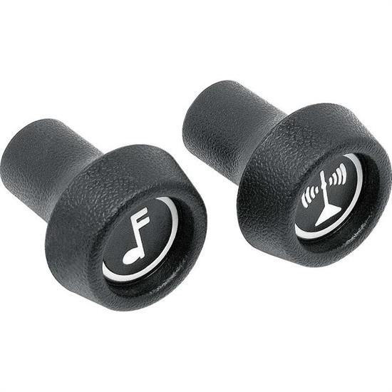 OER 330107 1971-78 GM Radio Control Knobs, Volume/Tuning, Pair