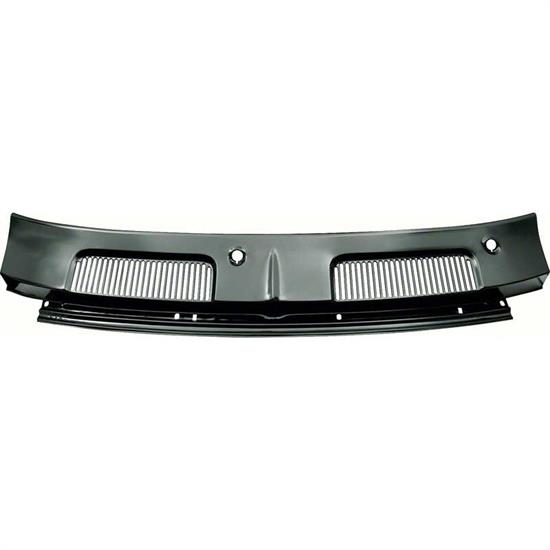 OER K841 1967-69 Camaro Cowl Top Vent Grill Panel, EDP coated