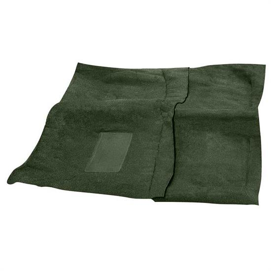 OER MB966530 1968-70 Dodge Super Bee Dark Olive Green Loop Carpet