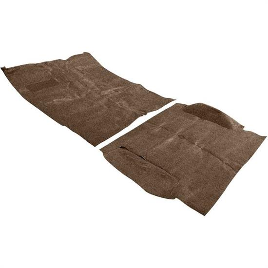 OER TB14218B4C 69-72 Blazer Dark Saddle Complete Molded Carpet