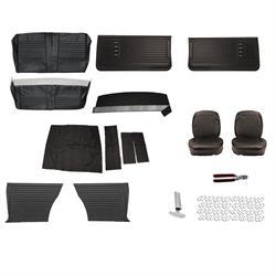 Peachy Complete Interior Upholstery Kit 1966 Chevelle Black Spiritservingveterans Wood Chair Design Ideas Spiritservingveteransorg