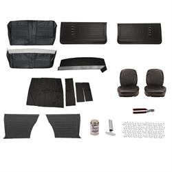 Complete Interior Upholstery Kit, 1967 Chevelle, Black