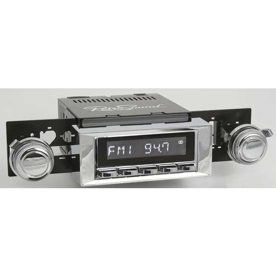 RetroSound RC900C-113-117-254-03-73 Classic Radio, 1968-79 Nova,Chrome
