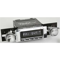 RetroSound RC900C-111-03-73 Classic Radio, 1964-65 Chevelle, Chrome