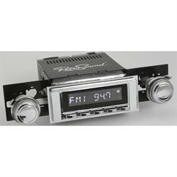 RetroSound RC900C-117-120-03-73 Classic Radio, 1968-72 Chevelle,Chrome