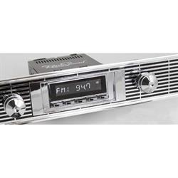 RetroSound RC900C-102-02-72 Classic Radio, 1955-56 Bel Air, Chrome