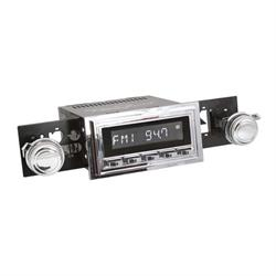 RetroSound RC900C-126-09-79 Classic Radio, 1961-62 Impala, Chrome