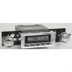 RetroSound RC900C-115-121-03-73 Classic Radio, 1965-66 Impala, Chrome