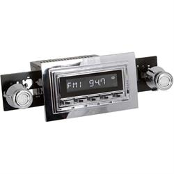 RetroSound RC900C-126-05-75 Classic Radio, 1969-73 Mustang, Chrome