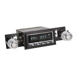 RetroSound RC900C-226-05-75 Classic Radio, 1974-85 Mustang, Chrome