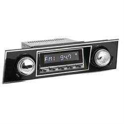 RetroSound HC-401-03-93 Hermosa Radio, 1967-68 Camaro, Chrome