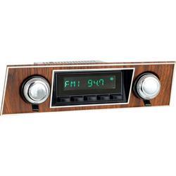 RetroSound HB-501-03-73 Hermosa Radio, 1967-68 Camaro, Black