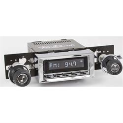 RetroSound HC-116-117-37-73 Hermosa Radio, 1970-77 Camaro, Chrome