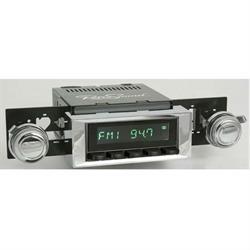 RetroSound HB-116-117-37-73 Hermosa Radio, 1970-77 Camaro, Black