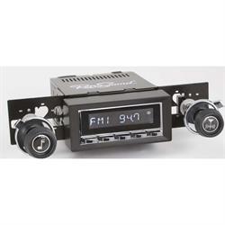 RetroSound HC-216-217-37-73 Hermosa Radio, 1970-77 Camaro, Chrome