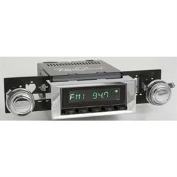RetroSound HB-113-117-254-03-73 Hermosa Radio, 1968-79 Nova, Black