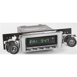 RetroSound HC-117-120-37-73 Hermosa Radio, 1968-72 Chevelle, Chrome