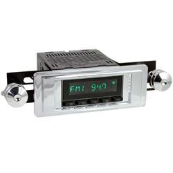 RetroSound HB-102-02-72 Hermosa Radio, 1955-56 Bel Air, Black