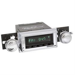 RetroSound HB-108-11-72 Hermosa Radio, 1958 Impala, Black