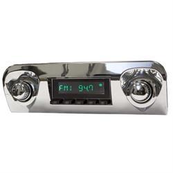 RetroSound HB-109-06-76 Hermosa Radio, 1959-60 Impala, Black