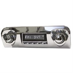 RetroSound HC-109-06-76 Hermosa Radio, 1959-60 Impala, Chrome
