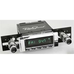 RetroSound HC-111-04-74 Hermosa Radio, 1963-64 Impala, Chrome