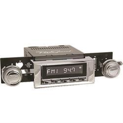 RetroSound HC-115-121-03-73 Hermosa Radio, 1965-66 Impala, Chrome