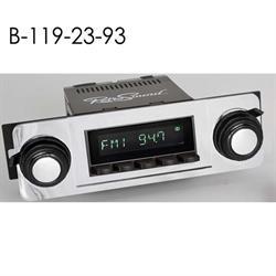 RetroSound HB-119-23-93 Hermosa Radio, 1967-72 Chevy Truck, Black