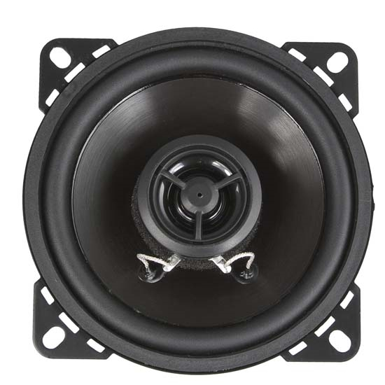 RetroSound R-452N Ultra-thin Stereo Speakers, 4-1/2 Inch