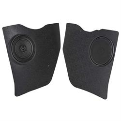 RetroSound KP-C41-6162-612 Kick Panels w/Speakers, 1961-62 Impala