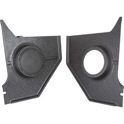 RetroSound KP-F39-6466-652 Kick Panels w/Speakers, 1964-66 Mustang