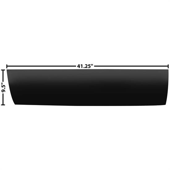 Dynacorn 1103KL Outer Lower Door Panel, LH, 1973-87 Chevy Pickup