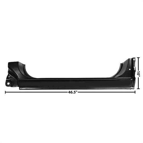 Dynacorn 1104DB OE Style Rocker Panel, LH, 1973-87 Chevy Pickup
