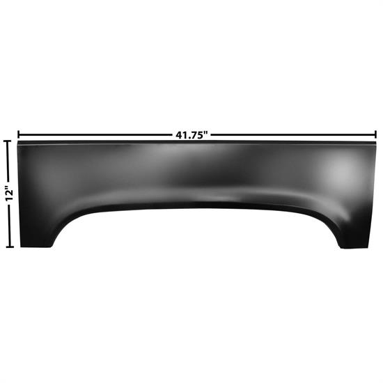 Dynacorn 1187D Rear Wheel Upper Arch, LH, 1973-87 Pickup