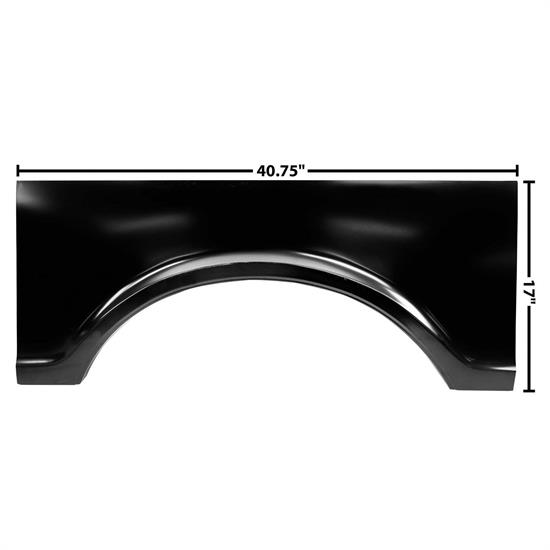 Dynacorn 1184 Bed Center Wheel Arch, RH, 1967-72 Chevy Pickup
