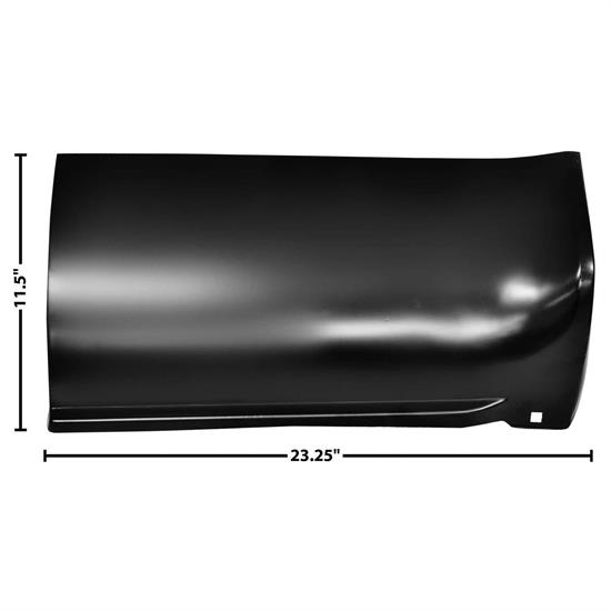 Dynacorn 1187F Front Lower Bed Section, LH, 1973-91 Chevy Pickup