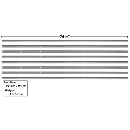 Dynacorn 1107T Bed Strip Kit, 1947-50 Chevy Pickup, 8 Piece