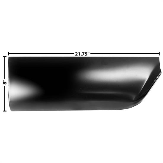 Dynacorn 1160QE Rear Lower Section Bed, RH, 1960-66 Chevy Pickup