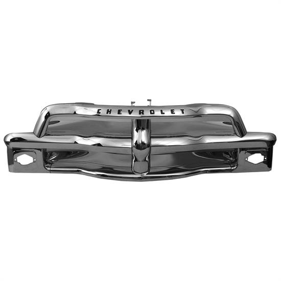Dynacorn M1137B Chrome Grille Assembly, 1954-55 Chevy Pickup