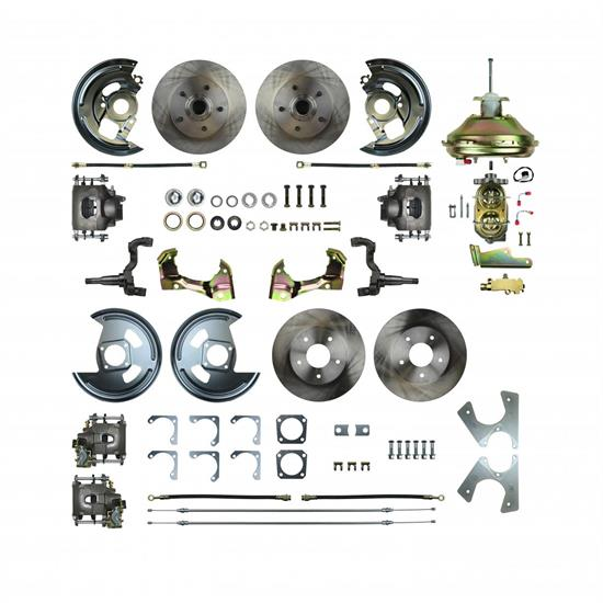 4 Wheel Disc Brake Conversion Kit, 1967-69 F-Body
